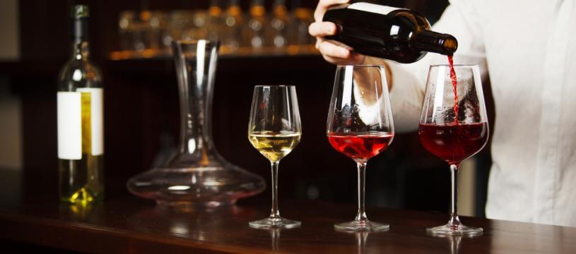 Les étapes de dégustation d'un vin