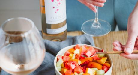 Soupe de fruits façon minestrone